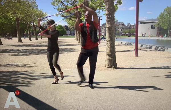 Social Distancing dance AT5 5 mei 2020 Bevrijdingsdans Festival